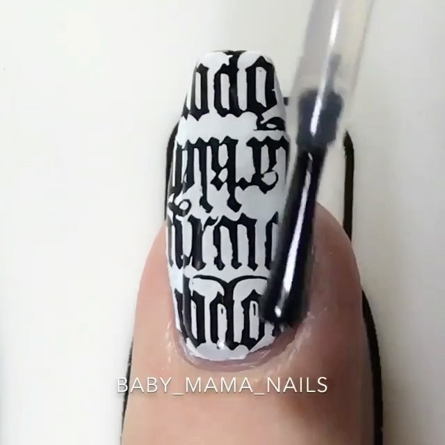 Video by AmazingMakeupArt on June 30, 2017. Image may contain: one or more people. Repost Tutorial for my gothic nails inspired by the fact that wear and love black FOREVER I.D.S.T also throwback to this song!! Loved this when it first came out!! I was really annoyed when I realised these images would not fit my fake ass nails but just double stamp them and it's hardly noticeable it's not the plates fault though I'm sure they come in two sizes. And how impressive is that black and w