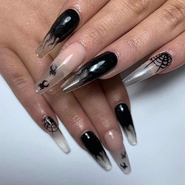 Photo shared by Sarah on October 09, 2020 tagging @scratchmagazine, @dtpronails, @aliciaacton, and @lemontreenailscardiff.