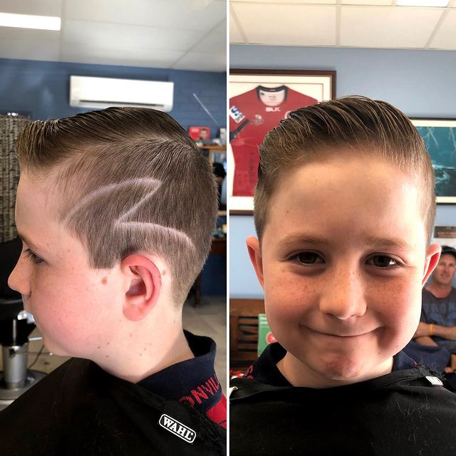 Photo by Alstonville Barber Shop in Alstonville, New South Wales. Image may contain: 2 people, closeup.