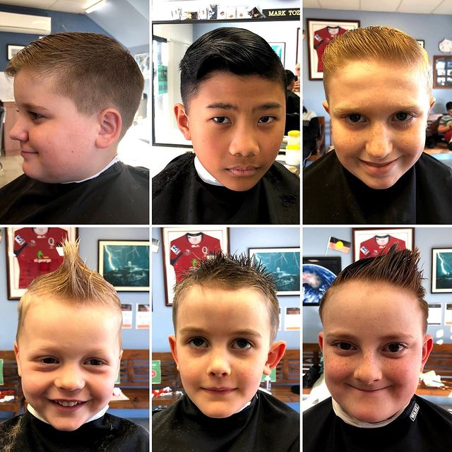 Photo by Alstonville Barber Shop in Alstonville, New South Wales. Image may contain: 6 people, selfie, closeup and indoor.