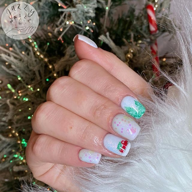 Photo shared by JAZZY NAILS on December 17, 2020 tagging @the_gelbottle_inc, @youngnailsuk, and @premier.gel. Image may contain: one or more people and closeup.