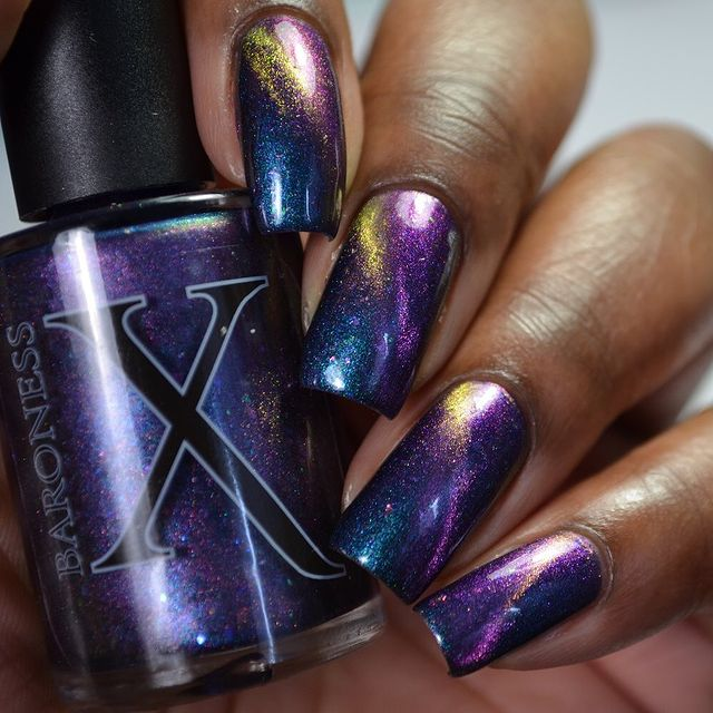 Photo shared by Vee | I Nail Polish on March 05, 2021 tagging @baronessx_polish.