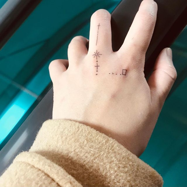 Photo by SY Kim on March 11, 2021. May be an image of one or more people and tattoo.
