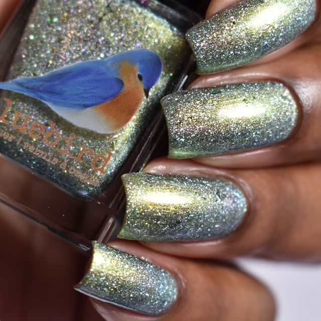 Photo shared by Vee | I Nail Polish on March 14, 2021 tagging @bluebirdlacquer.