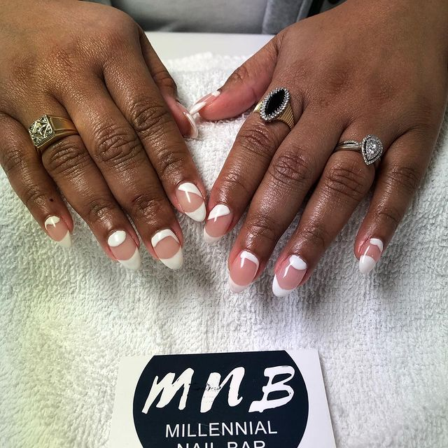 Photo by The MNB way | #gomnb on March 18, 2021. May be an image of text that says 'MnB MILLENNIAL NAIL BAR'.
