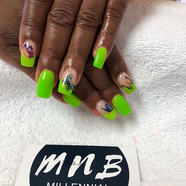 Photo by The MNB way | #gomnb on March 19, 2021. May be an image of text that says 'MnB MILLENNIAL NAIL BAR'.
