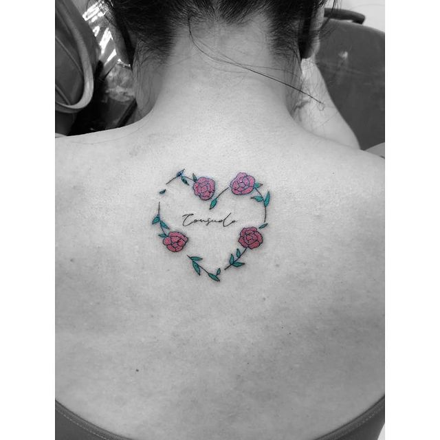 Photo by INK ADICTTOOS on March 21, 2021. May be an image of one or more people, tattoo and rose.