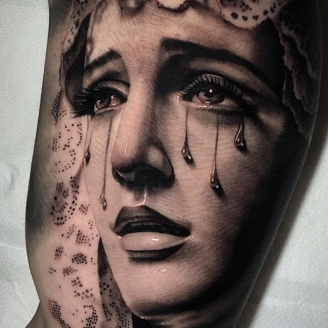 Photo shared by Pira_tattoo on March 22, 2021 tagging @inkedmag, @inkeeze, @skinart_mag, @tattoo_collector, @skinart_collectors, and @zoltartattooclub. May be an illustration of 1 person and tattoo.