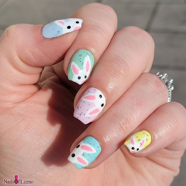 Photo shared by Lizmo WI on April 04, 2021 tagging @winstonia_store, @mitty_burns, @leeshaslacquer, @unt.global, @nailhoot, @unt.official, @linanailartsupplies, @loudlacquer, @pippypolish, and @loudbabbs.