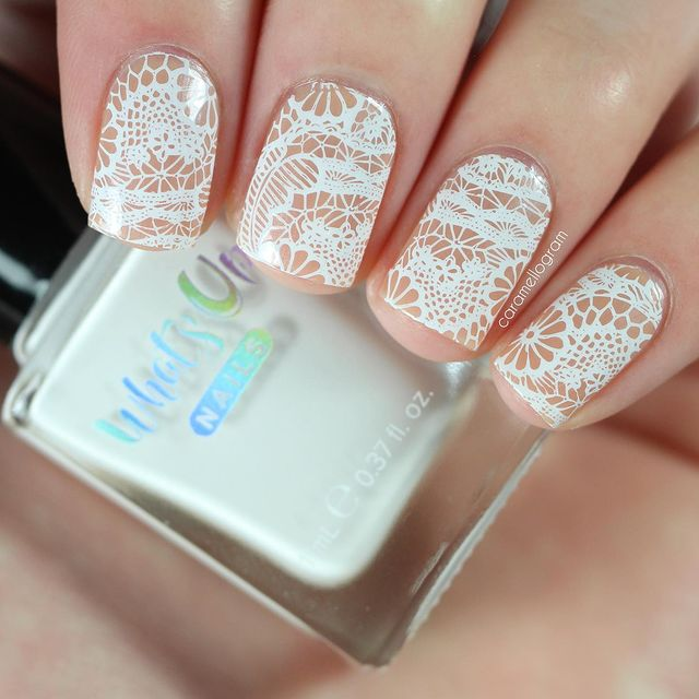 Photo shared by caramellogram on April 05, 2021 tagging @whatsupnails, and @clearjellystamper. May be an image of text that says 'WhatyO NAILS NAILS caramellogram e0.37fl.oz. oz.'.