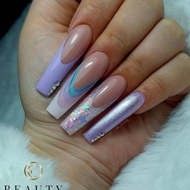 Photo shared by Claw Addicts on April 06, 2021 tagging @beauty_nails_home_. May be an image of text that says 'BEAUTY NAILS- NAILARTIST'.