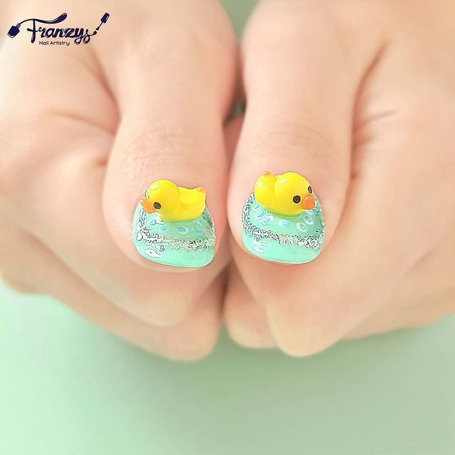 Photo by Nail Art by Franzys on April 07, 2021. May be an image of text that says 'Franzys NailArtistry ranzys'.
