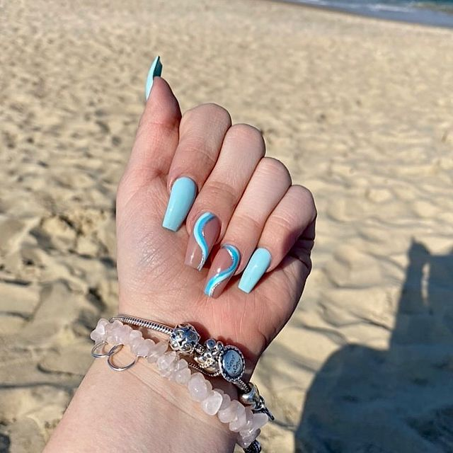 Photo shared by Nail Logic on April 07, 2021 tagging @angietica94. May be an image of jewelry.