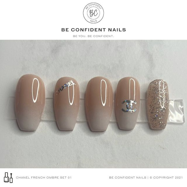 Photo by Be Confident Nails on April 07, 2021. May be an image of text.
