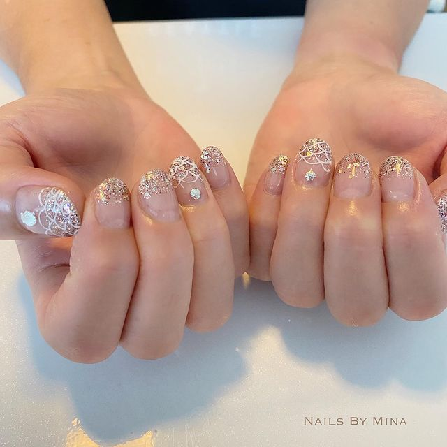 Photo by Hawaii 自宅 ネイルサロン in Ewa Beach, Hawaii. May be an image of text that says 'NAILS BY M NA'.