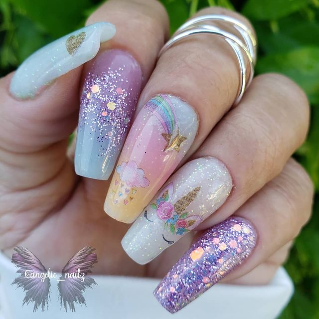 Photo shared by angel♡elicia on April 17, 2021 tagging @doubledipnails.