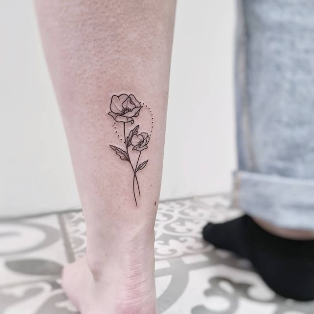 Photo by Kim (b̶e̶r̶l̶e̶y̶) van Uden on May 05, 2021. May be an image of one or more people, tattoo and rose.