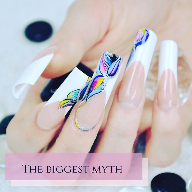 Photo shared by Nail Expert & Business Coach on May 12, 2021 tagging @nailsmagazine, and @scratchmagazine. May be an image of text that says 'THE BIGGEST MYTH'.