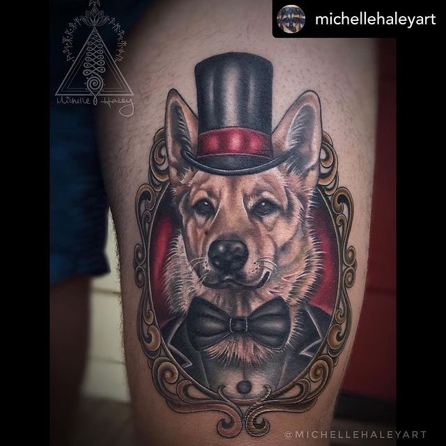 Photo by Sacred Soul Tattoo in Renton, Washington with @michellehaley_sacredsoultattoo, @pet__loversss, and @michellehaleyart. May be art of one or more people, tattoo and text that says 'michellehaleyart @MICHELL'.