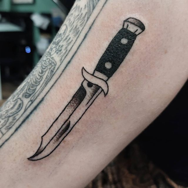 Photo shared by Danny Arthurs on May 27, 2021 tagging @florencee_mae, @leeds.independentlife, @leeds.life, @snakeandtiger, @aroundleeds, and @blackworkers_uk. May be an image of knife.